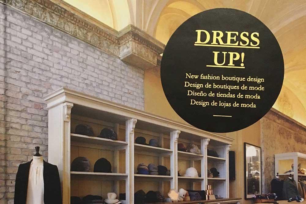 Dress Up New Fashion Boutique Design