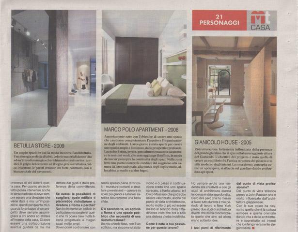 Corriere dello Sport - Mt Casa - Carola Vannini
