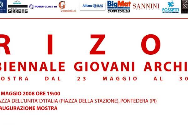 Biennale Giovani Architetti Italiani